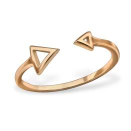 anillo flechas plata 925chapado en oro rosa.jpg